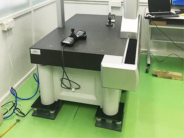 海克斯康三坐标测量仪器减振器案例!