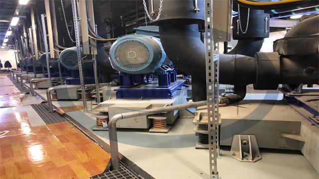 水泵基座弹簧减震器安装2