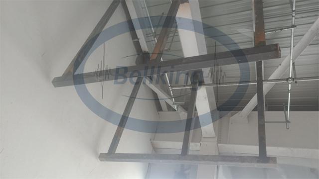 空调机组减振降噪施工现场4