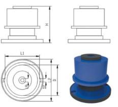 弹簧式减振器MC型