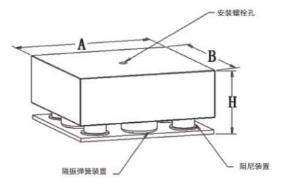 弹簧阻尼减振器BK-DS-4型