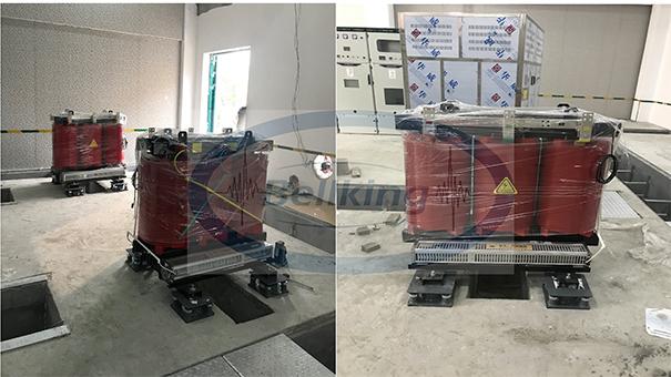 气浮式变压器减振器1