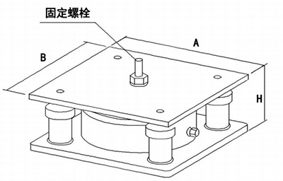 气浮式减振器BK-R